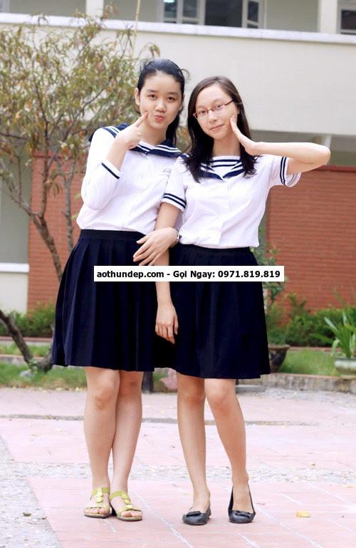 đồng phục học sinh cấp 3 ở tphcm