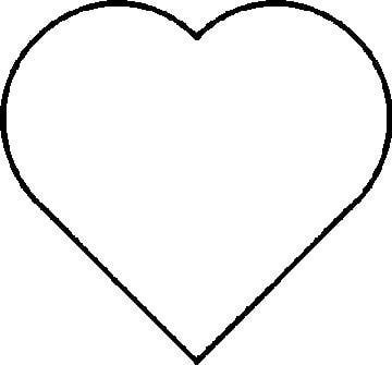 Full Page Heart Template Printable - ClipArt Best