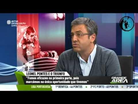 a46dd298be Com quem é que joga o Sporting   Carlos Daniel humilha Bruno Prata em direto