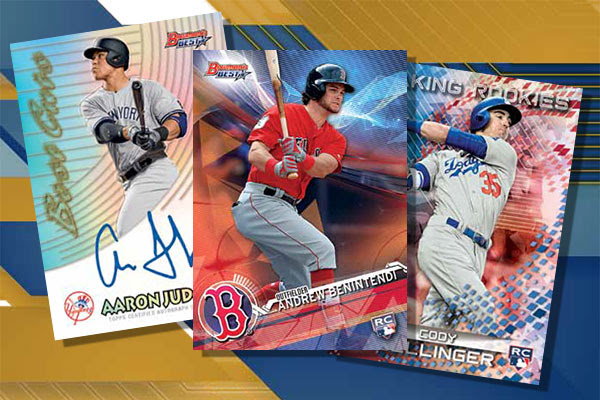 2017 Bowman's Best Baseball Header