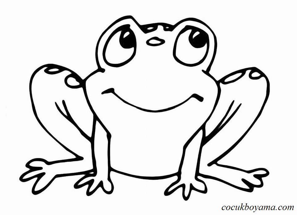 En Iyi Kurbağa Boyaması Yazdırılabilir Boyama Sayfaları