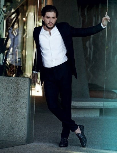 Kit Harrington for Jimmy Choo autumn/winter 2014 campaign