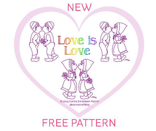 Love Is Love pattern