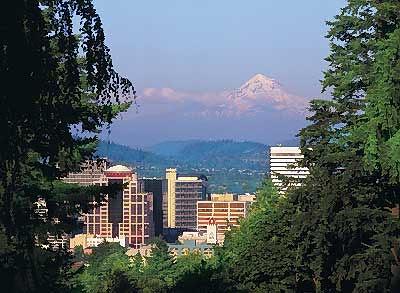 Washington Park in Portland, Oregon