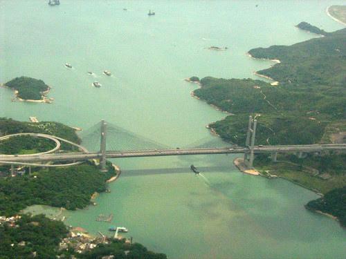 Flying past Hong Kong 3