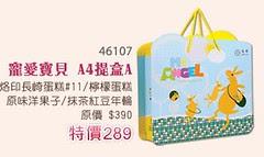 金格寵愛寶貝A4提盒A