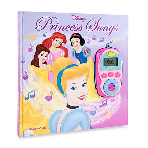 Buy Disney® Princess Song Book with Sound Player from Bed ...