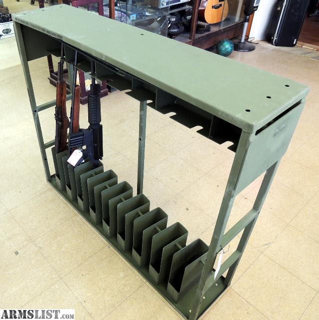 ARMSLIST - For Sale: HEAVY DUTY STEEL GUN RACK - MILITARY ...