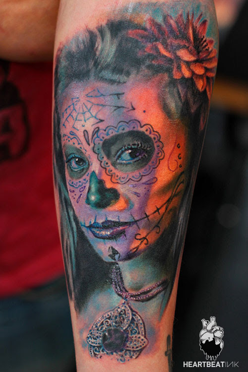 Dias De Los Muertos Tattoo Pictures