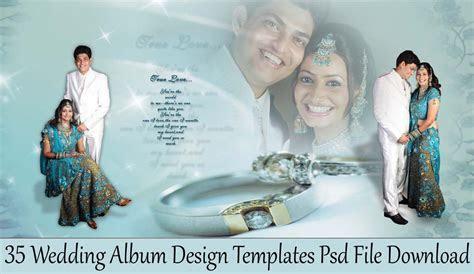 35 Wedding Album Design Templates Psd File Download   StudioPk