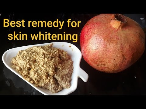 skin whitening home remedy