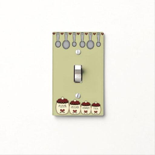 Custom Kitchen Light Switch Covers  Zazzle