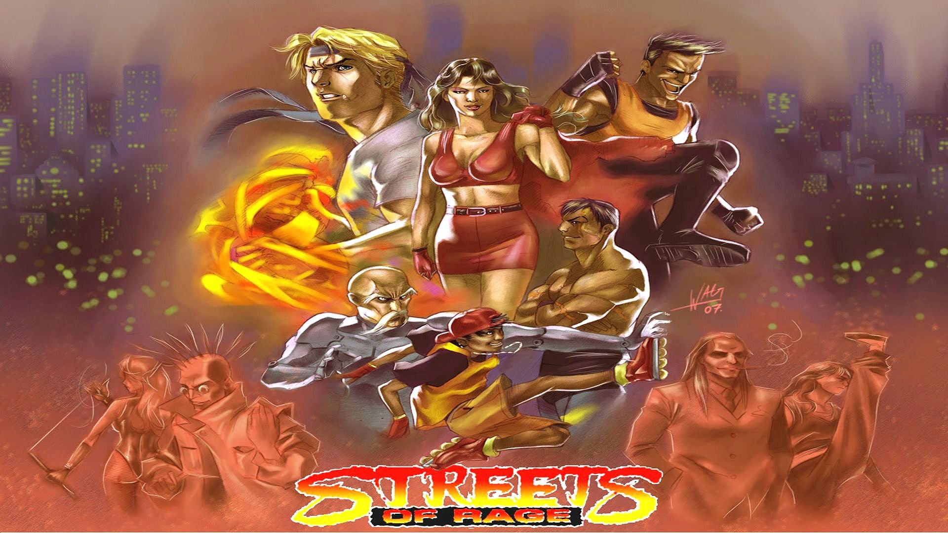 Streets Of Rage Wallpaper 78 Images