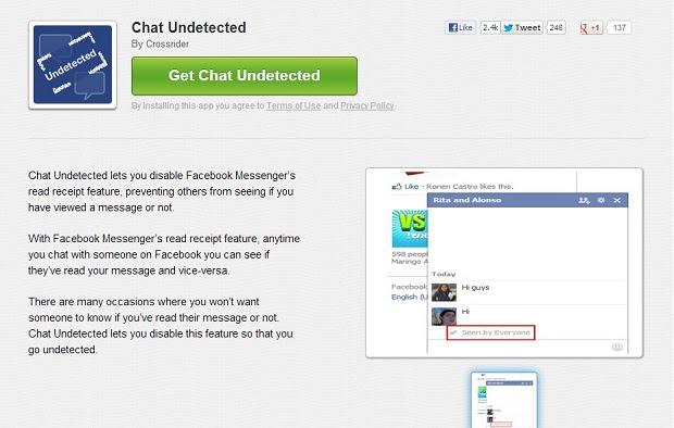 """Clique em """"Get Chat Undetected"""" para baixar o arquivo"""