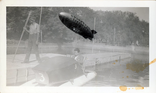 Double Exposure with Blimp