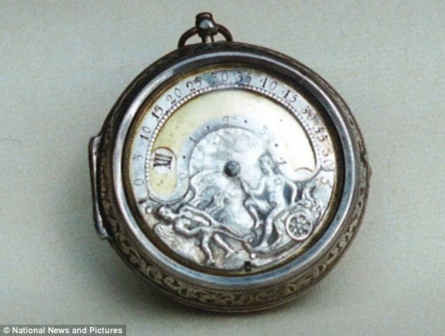 Among the watches taken in the haul was this Fromanteel timepiece from 1690, which is valued at £6,000