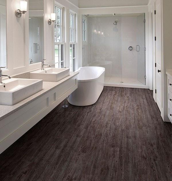 Bathroom Flooring Ideas - Types of Bathroom Flooring ...