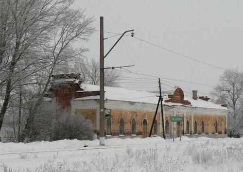 Вокзал ст. Ясаково