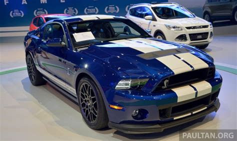 ford mustang shelby gt shown  klims