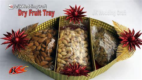 HOW to Make Wedding Tray   DIY Dry Fruit Tray Decoration