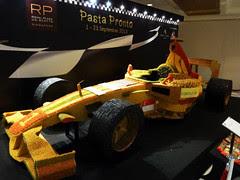 pasta race car