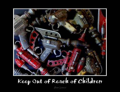 Keep Out of Reach of Children by Tinkerbots