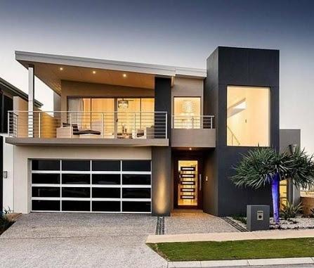 Fachadas de casas modernas 2018 – Fotos  Decorando Casas