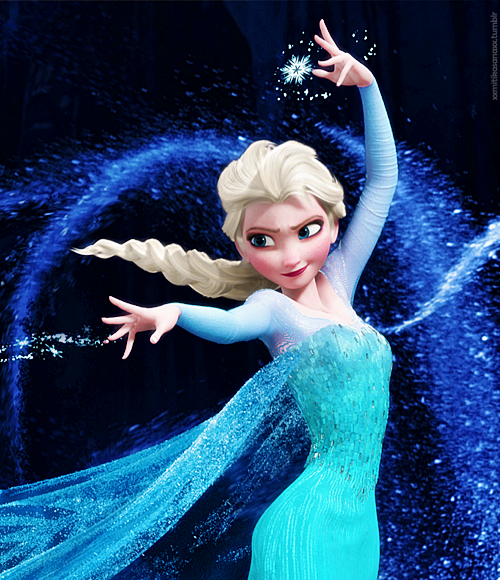 Image result for Elsa making ice