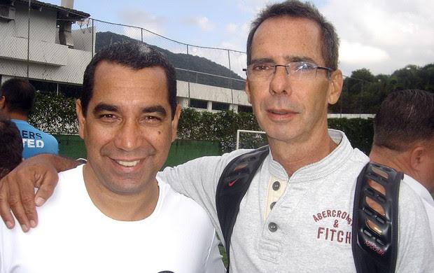 Pelada 20 Anos do Penta, Flamengo, Zinho (Foto: Igor Castello Branco / Globoesporte.com)