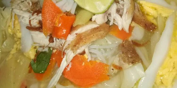 Resep Soto Banjar Ayam Kampung Oleh @HusnaEga