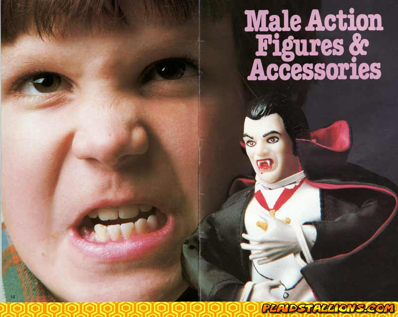 Remco Dracula Action Figure