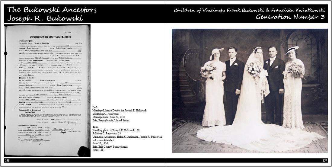 Michelle M. Murosky: Portraits of a Life &emdash; Our Ancestors The Book: Volume 2: The  Bukowski Family