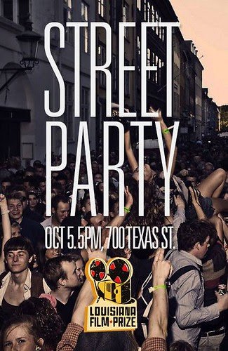 Fri, Oct 5: LFP Street Party music and screenings by trudeau