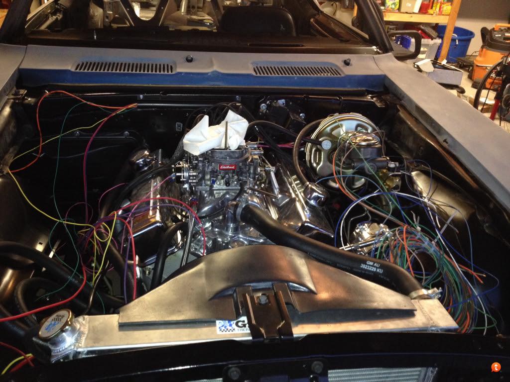 67 Camaro Wire Harnes Routing