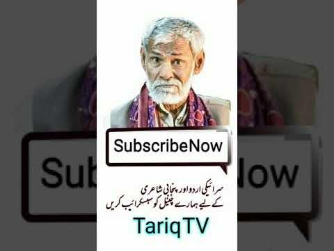 Short Video Saraiki Poetry Shakir Shuja Abadi Tariq TV