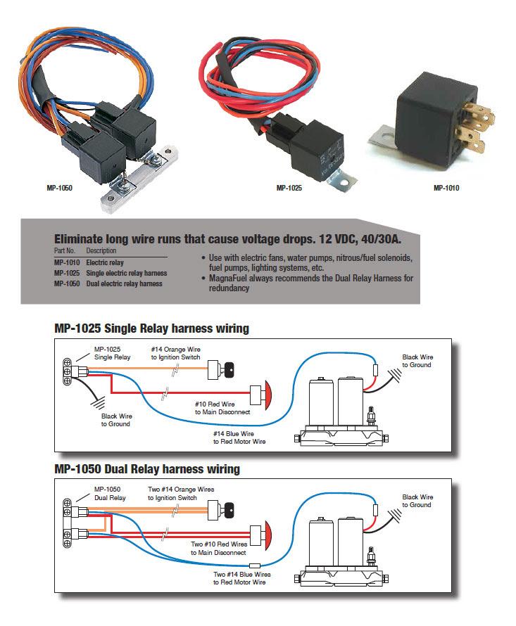 12 Volt Fuel Pump Relay Wiring Diagram