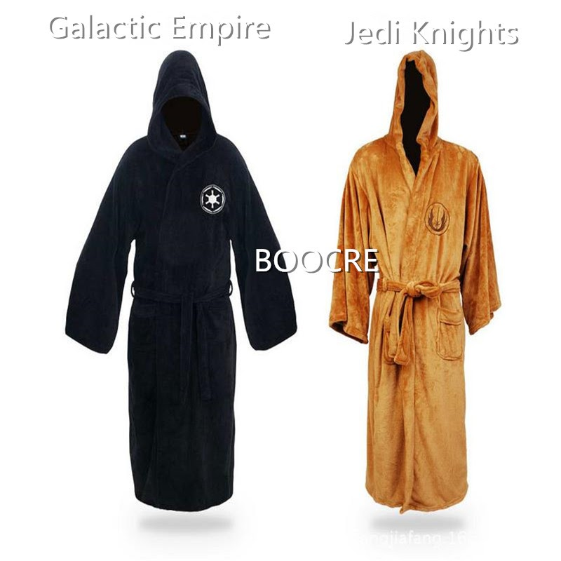 TOP !!  Star Wars Jedi Knight Pajamas Galaxy Empire Bathrobe Lingerie Gown Bathrobe cosplay