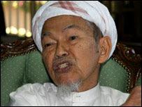 Kelantan Chief Minister Nik Abdul Aziz Nik Mat