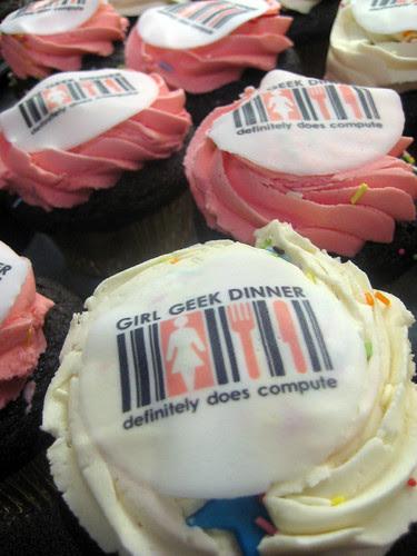 Girl Geek Dinner Cup Cakes