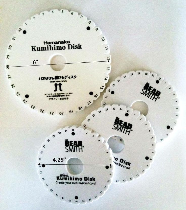 Disks, Disks and More Disks Many of you already have more than one Kumihimo Disk which makes it easy to have multiple projects going at one time. You might have one disk that you use for quick proj...