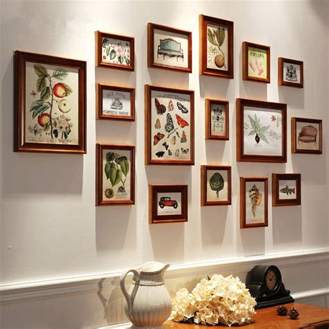 pcsset wooden photo frame familyvintage picture