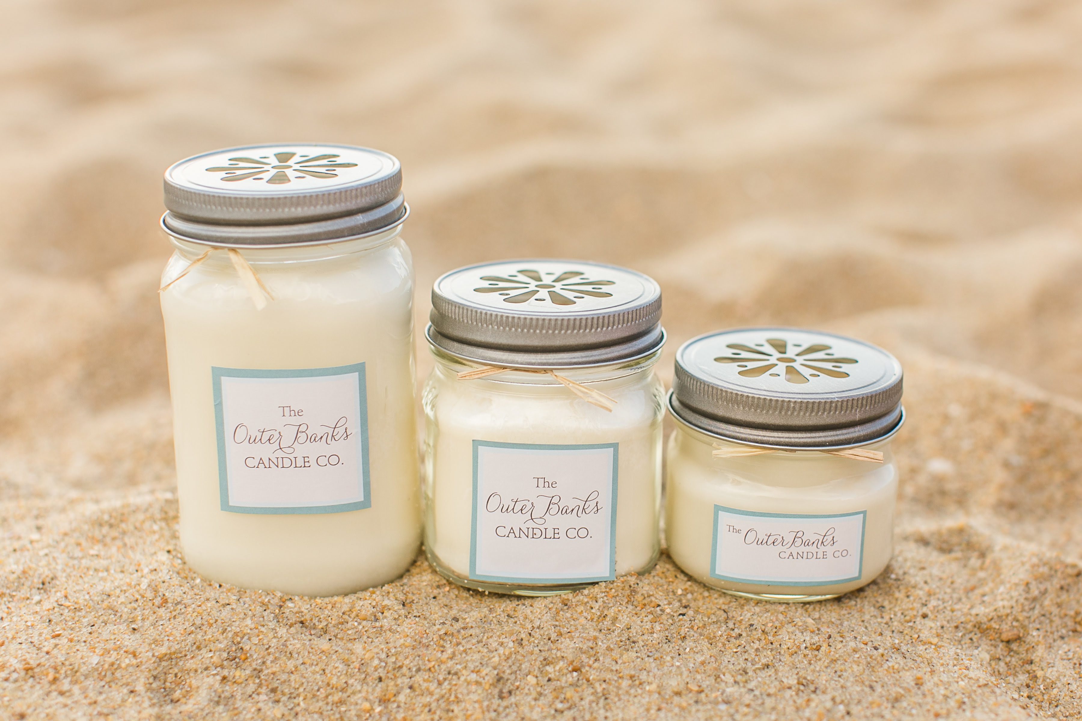 Vintage-Style Soy Candles « The Outer Banks Candle Company