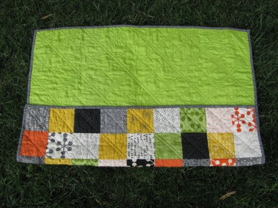 Tucked Quilt Fold (2)
