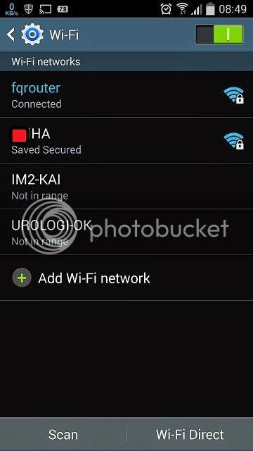 Android sebagai Wifi Repeater