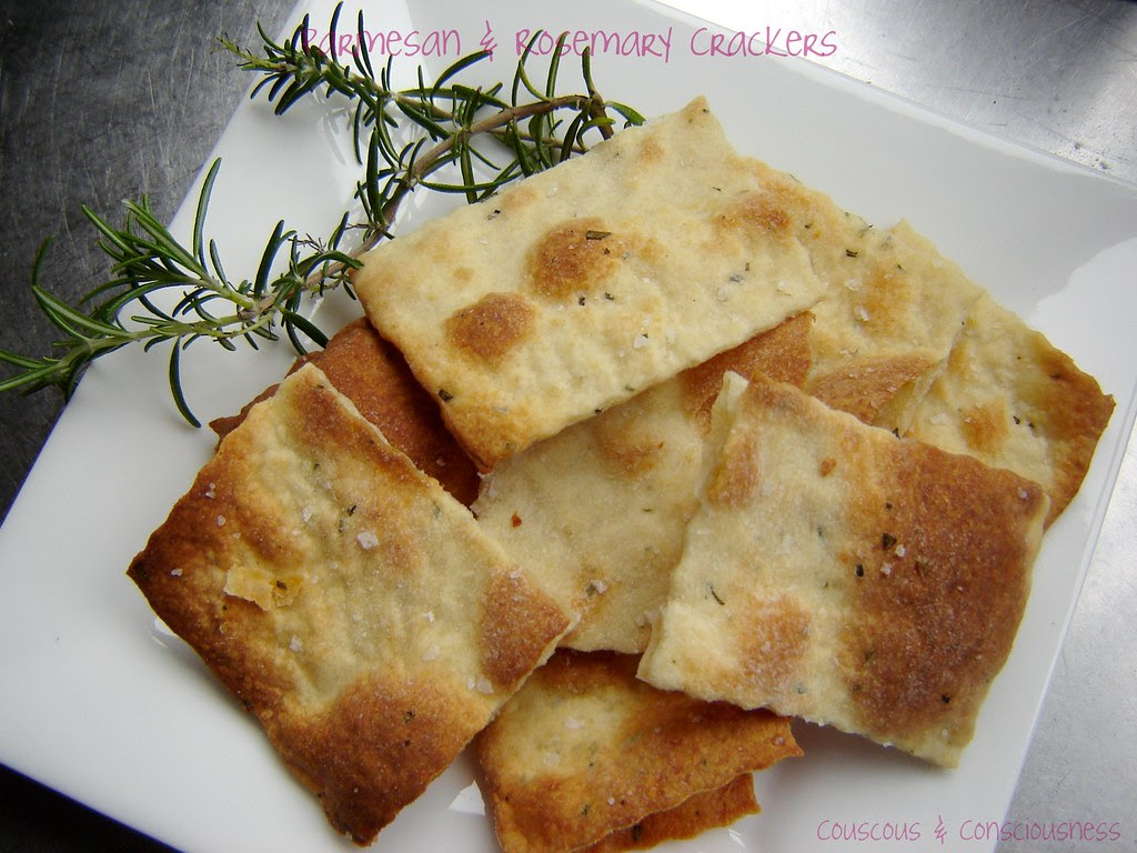 Parmesan & Rosemary Crackers 2