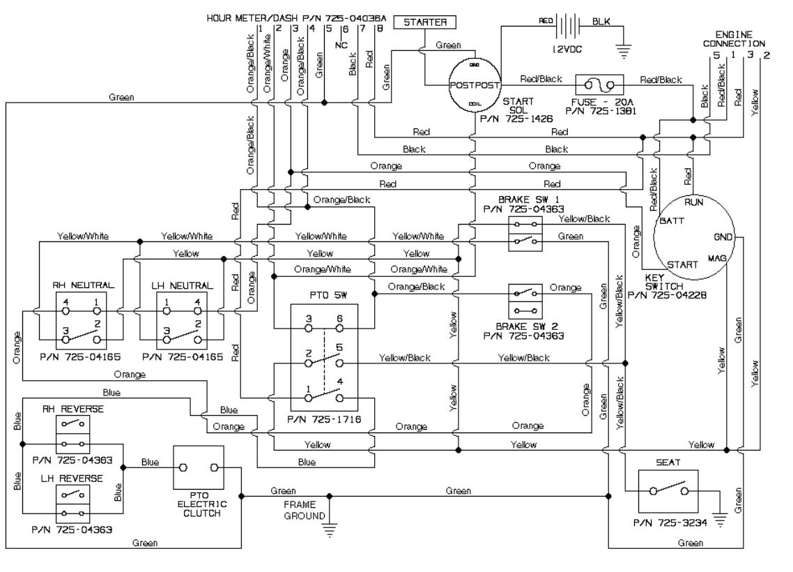 35 Cub Cadet 1042 Parts Diagram