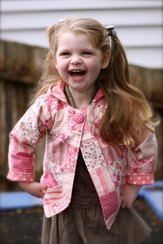 Uptown Girl Jacket (reversible)