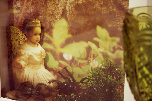 Forest princess collage