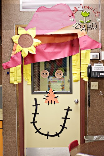 Autumn Classroom Door