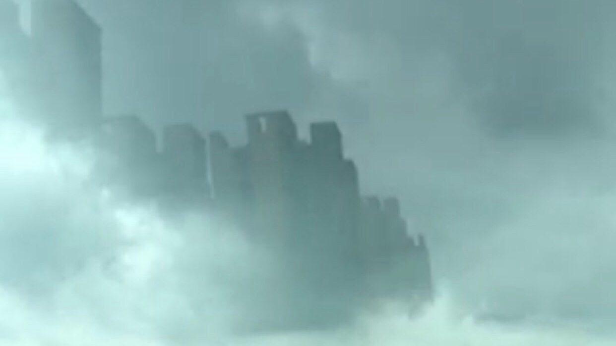 μπλε σχέδιο πορείας, σχέδιο μπλε ακτίνα, η NASA σχέδιο μπλε ακτίνα, πόλη εμφανίζεται σε ουρανό της Foshan, μπλε ακτίνα έργο πραγματικότητα, skycrapers εμφανίζονται στο σύννεφο πάνω από την Κίνα, μυστηριώδη οφθαλμαπάτη πάνω από την πόλη στην Κίνα, ποιες είναι αυτές οι skycrapers κάνουν στον ουρανό πάνω από Foshan